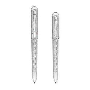 Alfred Dunhill Diamond Pattern Ballpoint Pen