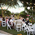 Outdoor Summer Wedding Backyard Home