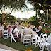 Outdoor Summer Wedding Backyard Home