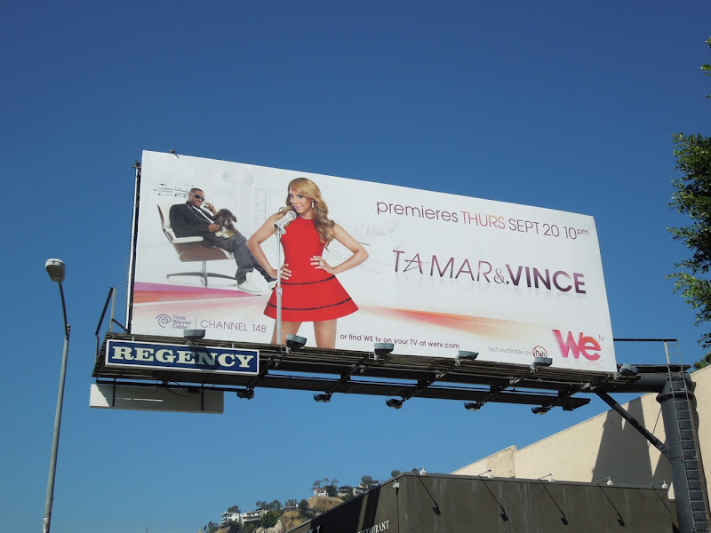 Tamar Vince season 1 billboard