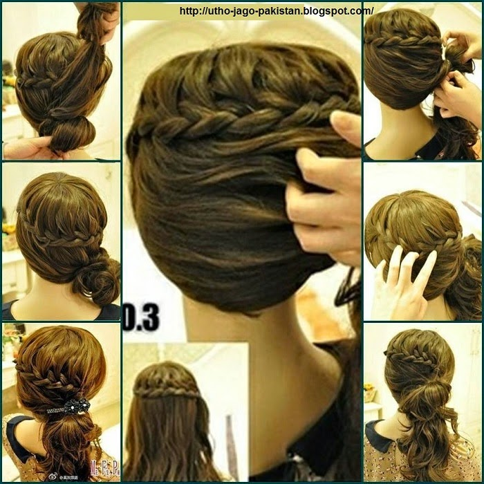 Latest Best Quick And Simple Hair Style Pics Tutorials Just Bridal