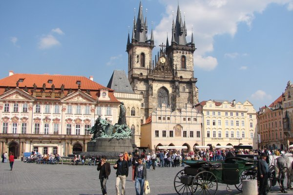 prague old town square, what to see in prague, globetrotter india, best indian travel blog, top indian travel blog, top globetrotter blog india