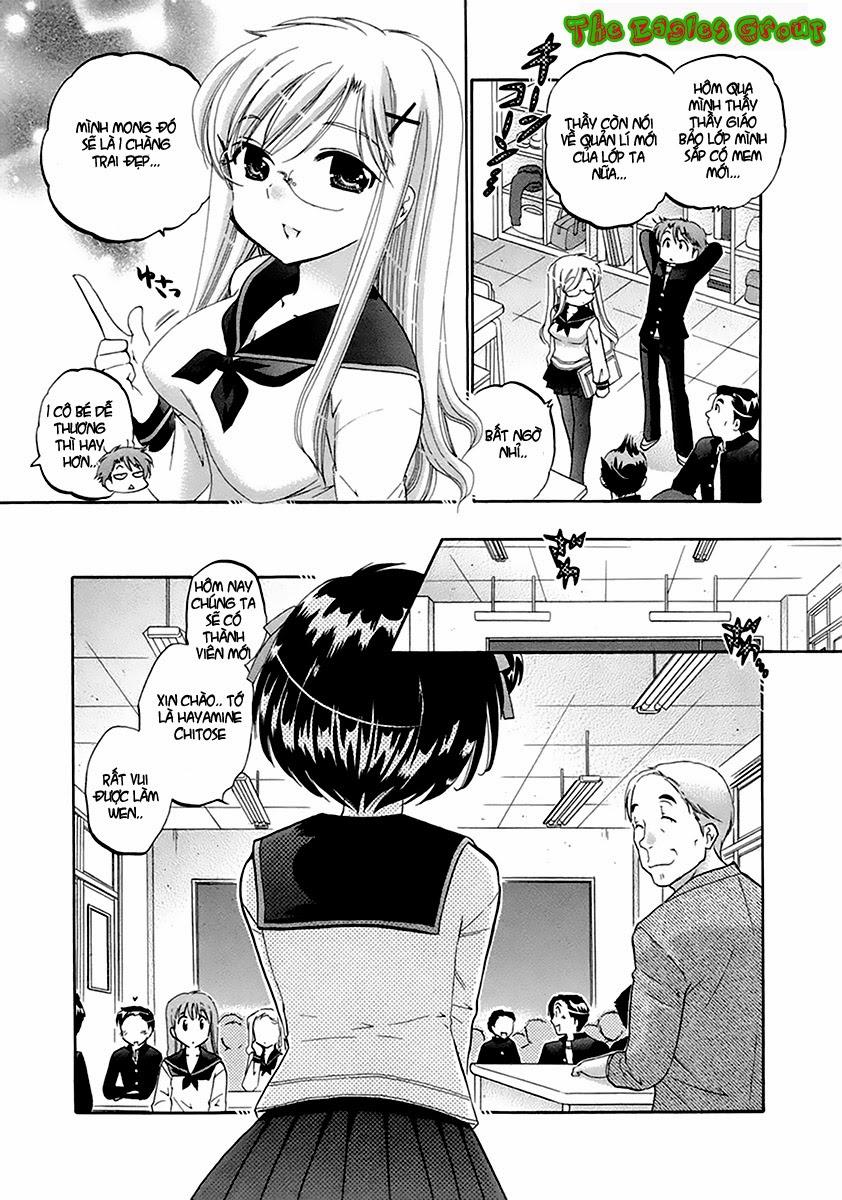 Kanojo no Kagi wo Akeru Houhou chap 1 Trang 9 - Mangak.info