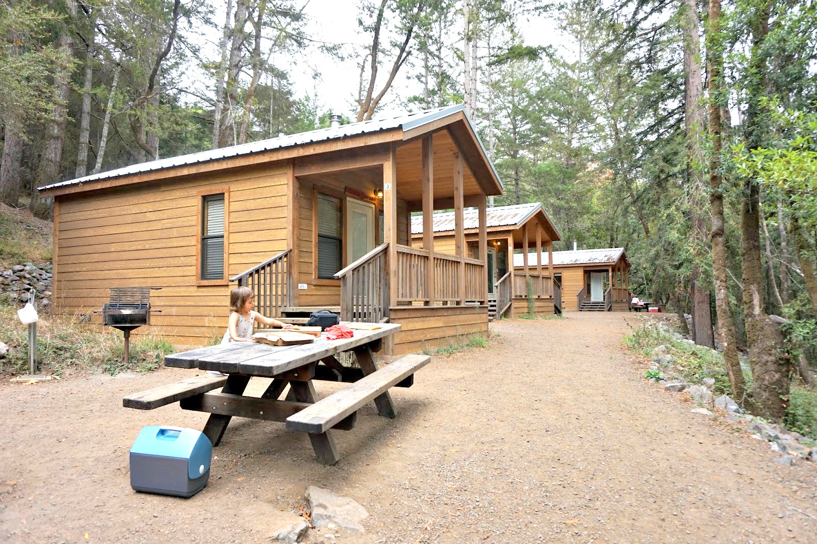 The Cabins, Which Were Built In 2012, Come Equipped With Electricity,  Platform Bunk Beds With Mattresses, Wood Floors, Covered Porches, And A  Small Electric ...
