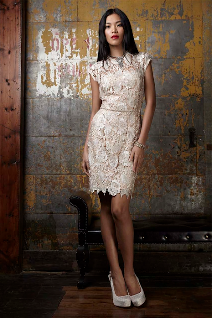 Madonna and Co pearl and plymouth lace dress, lace holiday dress