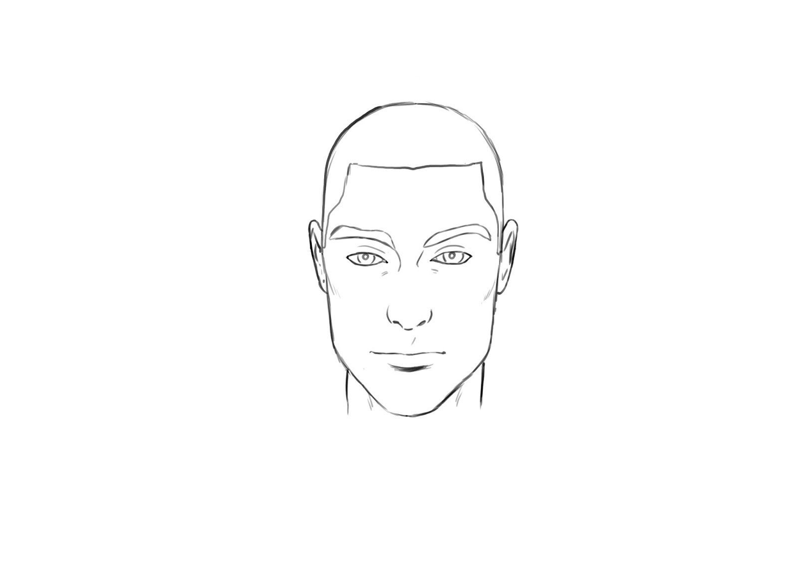 how to draw nose illustrator