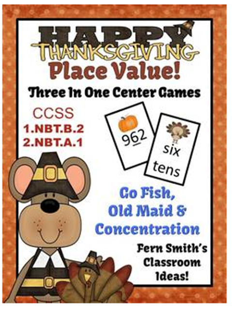 http://www.teacherspayteachers.com/Product/Place-Value-Thanksgiving-Concentration-Go-Fish-Old-Maid-for-Common-Core-772011