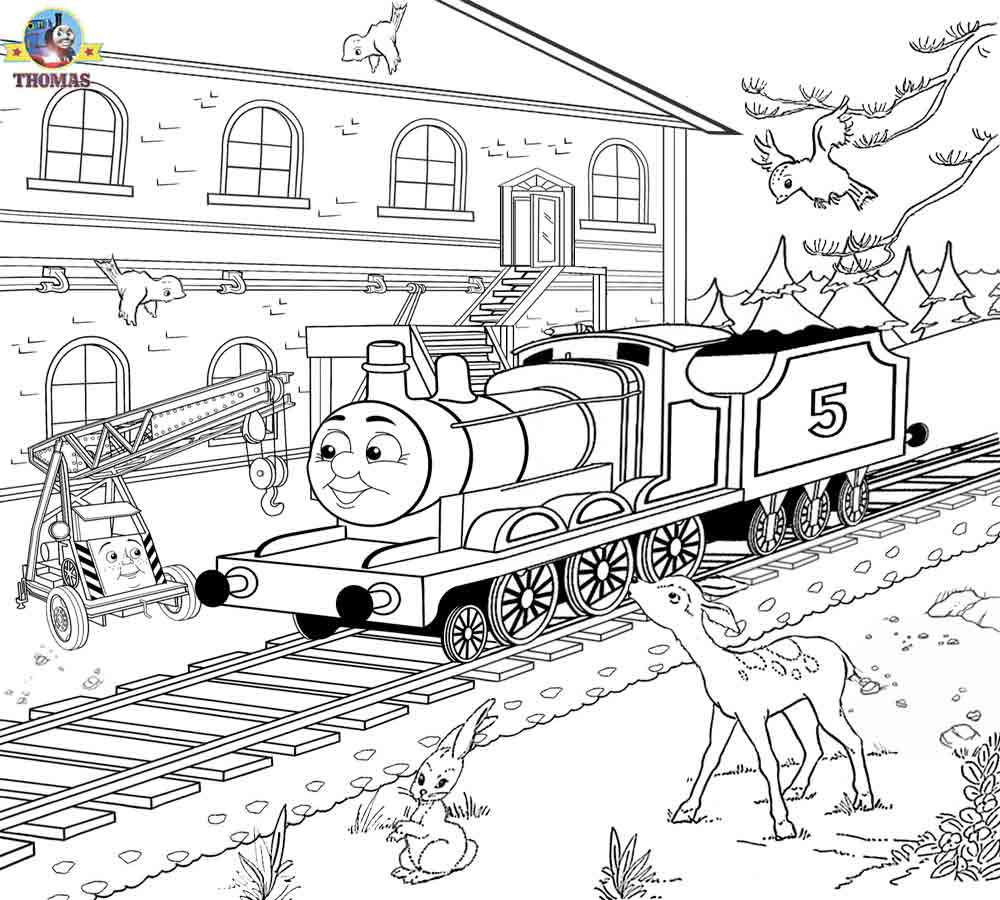 Free Printable Railway Pictures