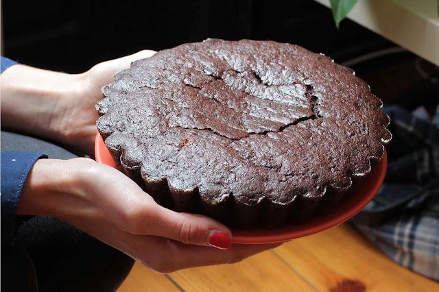 Gâteau au chocolat à la betterave