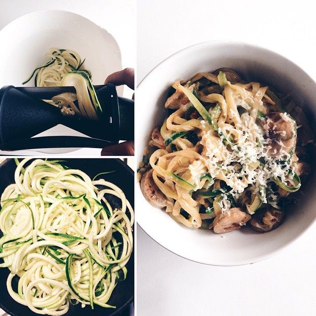 zoodles, four hour body recipes