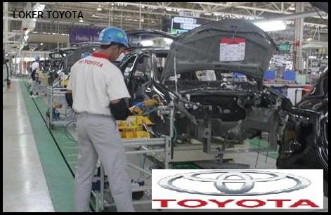 LOKER PABRIK TOYOTA, LOWONGAN MOBIL TOYOTa, kARIR DI Toyota