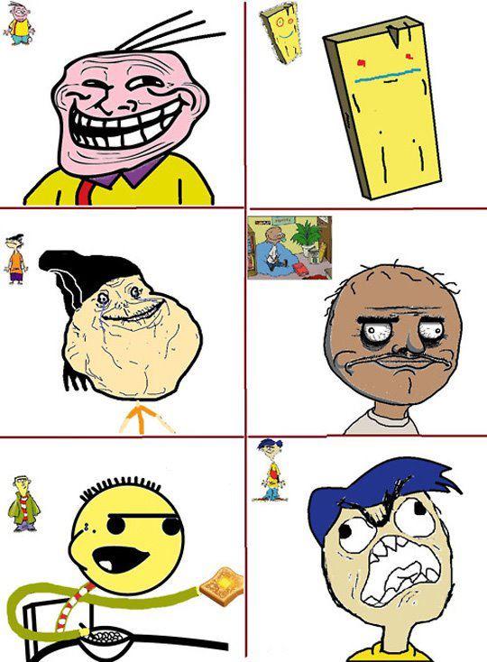 Ed, Edd n Eddy ( Troll Face )