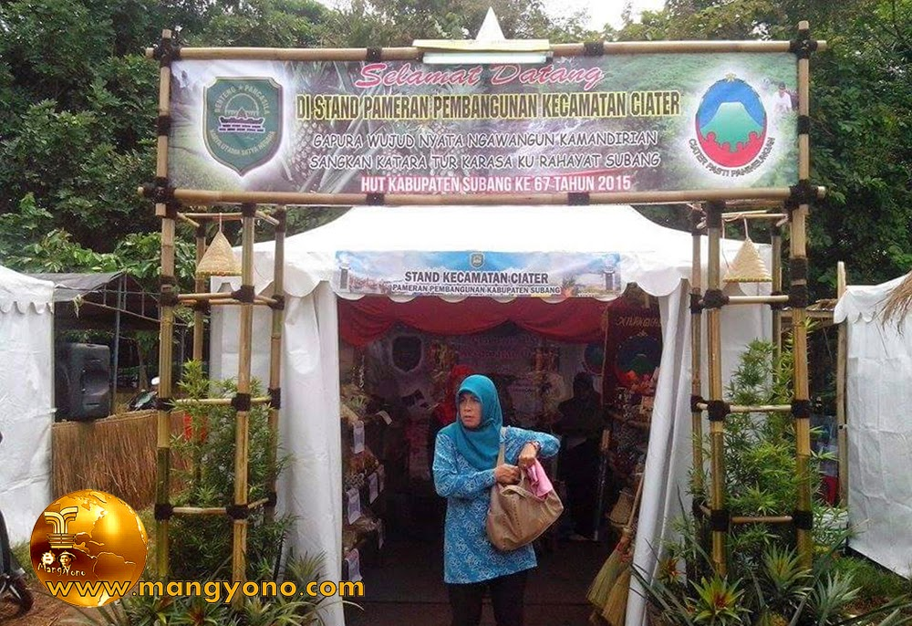 Stand Kec. Ciater, Pameran Pembangunan Kabupaten Subang 2015