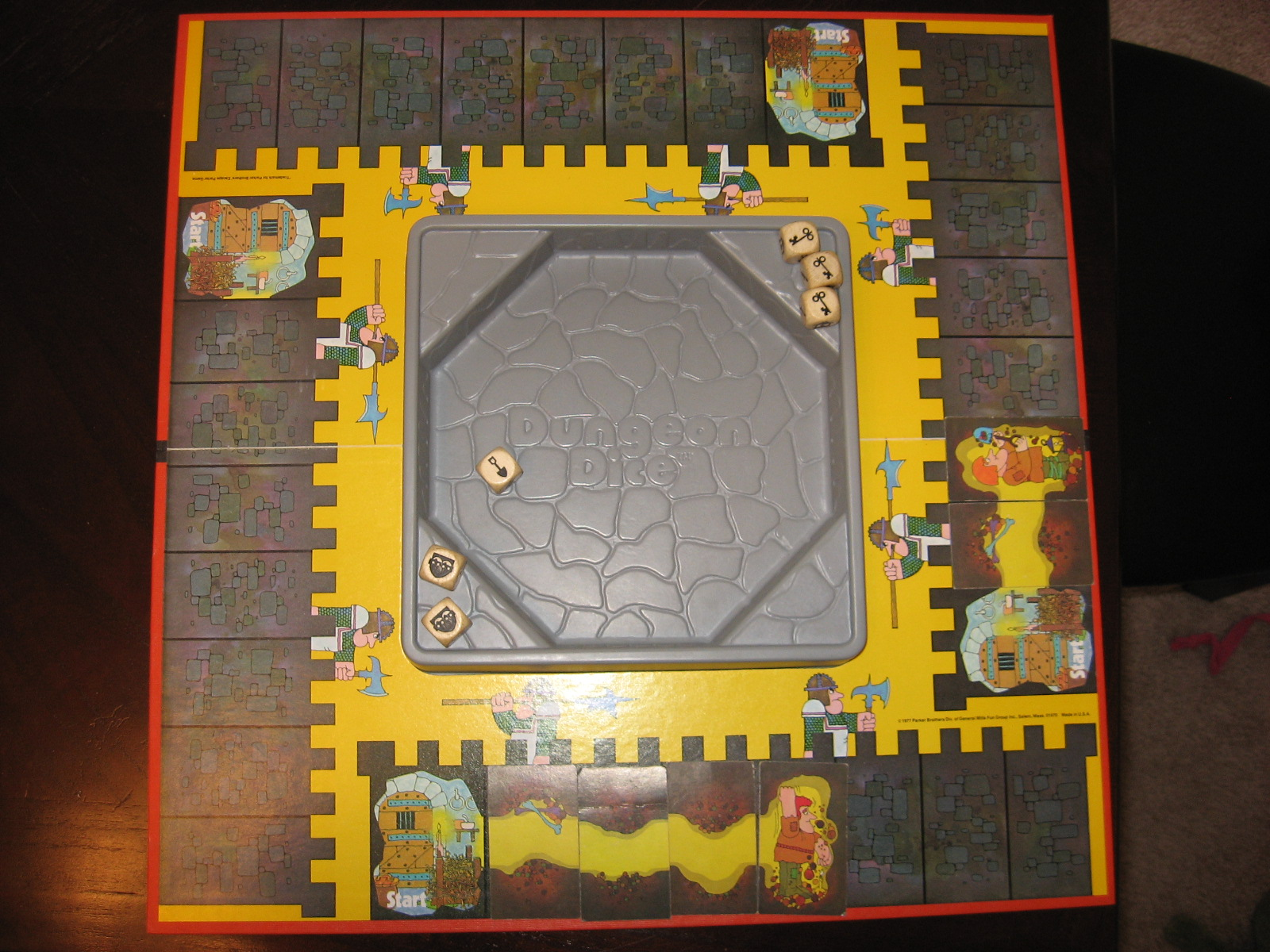 Dungeon dice a board game a day you play a prisoner locked in the dungeon of a castle your task is to dig yourself out through the walls of the dungeon you do this by rolling a set of solutioingenieria Gallery