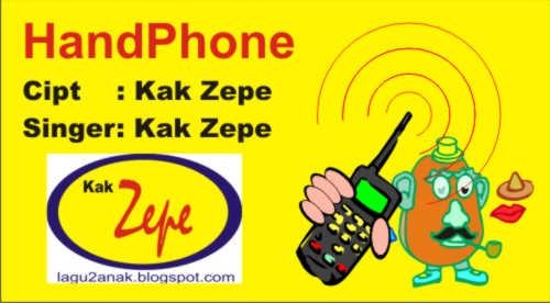 Handphone Lagu Anak Tentang Alat Komunikasi Untuk Mengenalkan Media