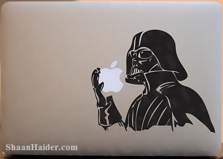 Darth Vader Geeky MacBook Stickers and Decals