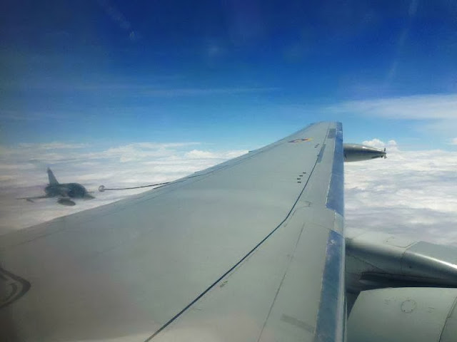KC-767 Júpiter Colombia Reabastecimiento