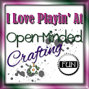 Open-Minded Crafting Fun Challenge Blog