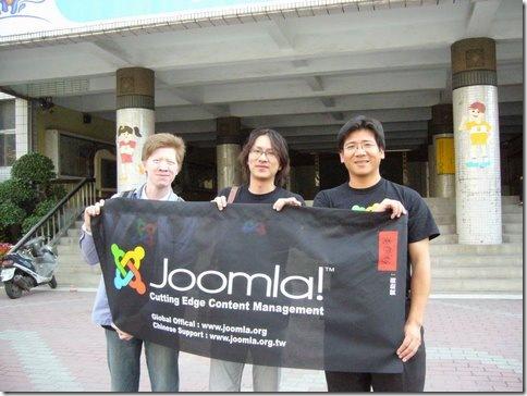 Joomla!台灣第一批社群推廣者:豆腐Dofi、Eddy、福哥