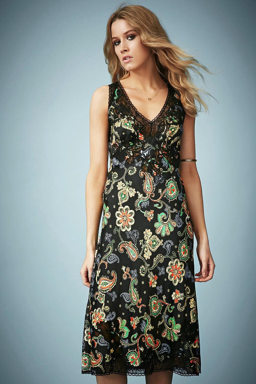 kate moss paisley dress