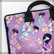 sacoche / Housse PC, Mac / pochette KOKESHI /housse I-Phone TRIBBES