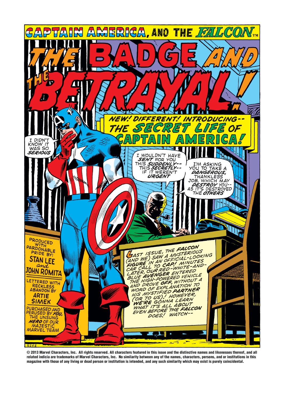 Captain America (1968) Issue #139 #53 - English 2