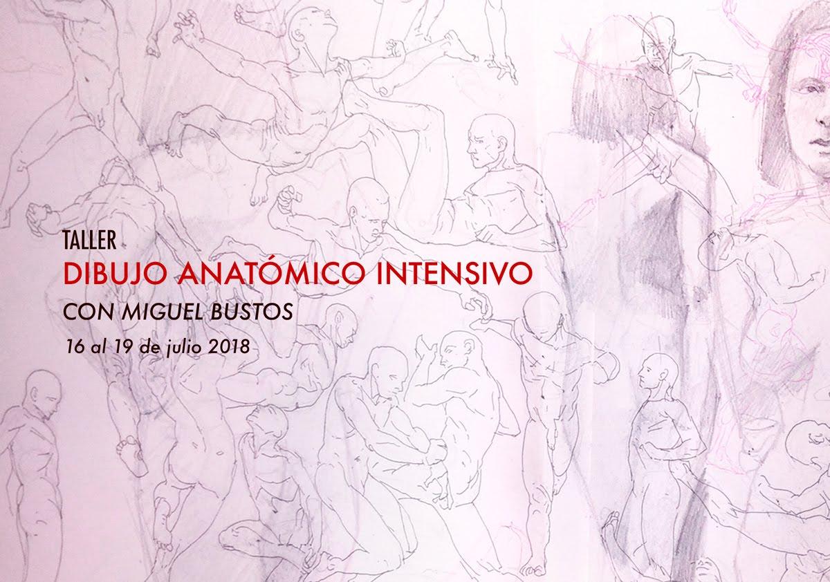 INTENSIVO DE DIBUJO ANATÓMICO // 16 de jul
