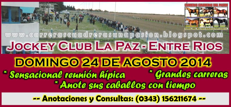 LA PAZ - REUNION 24.08.2014
