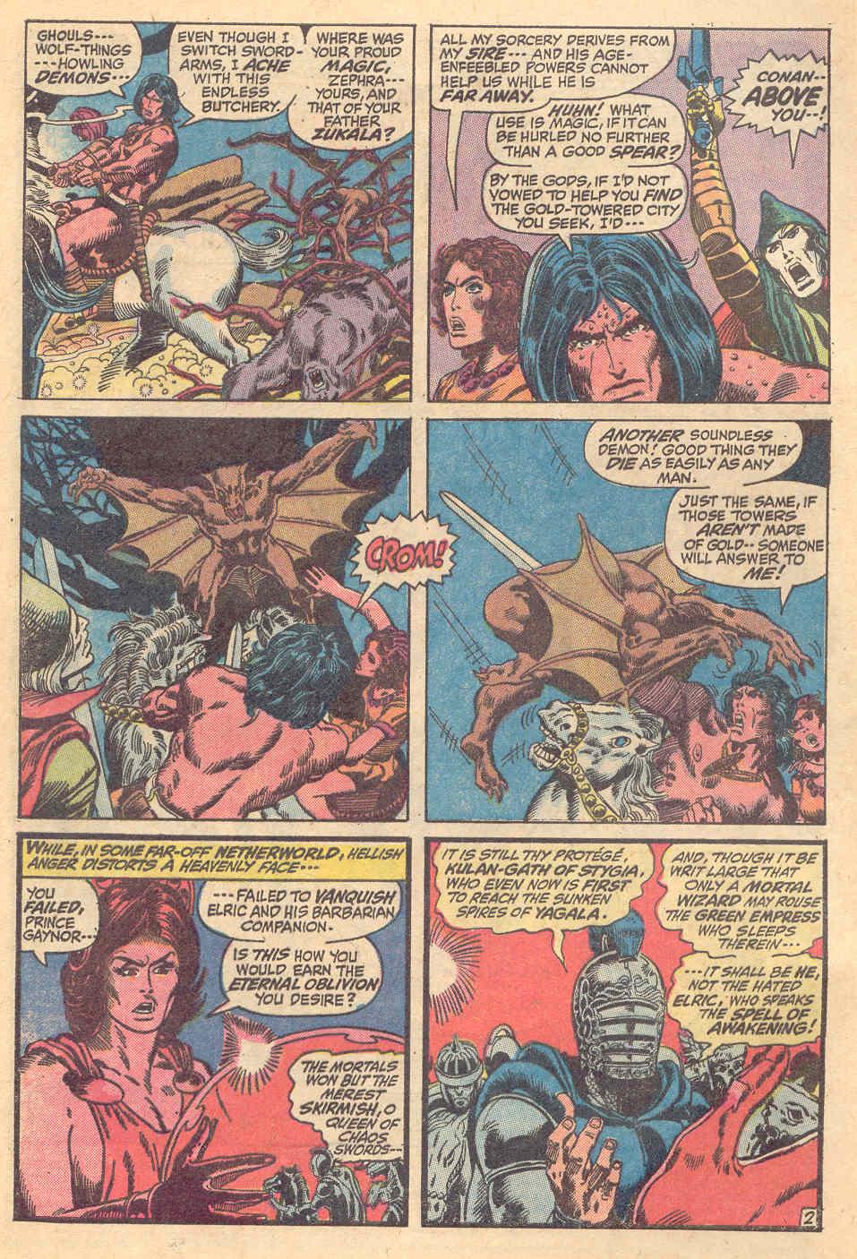 Conan the Barbarian (1970) Issue #15 #27 - English 3