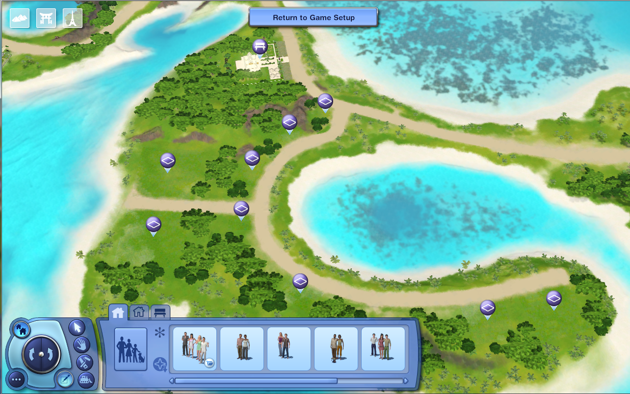 how to get into edit town mode on sims 3