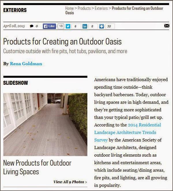 The Duradek Way Latest Outdoor Design Trends For 2015