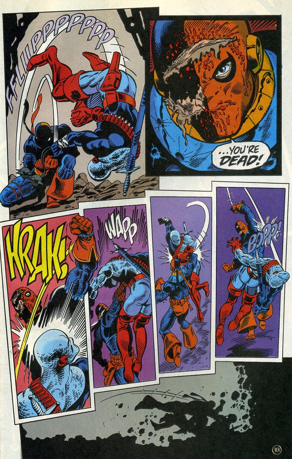 Deathstroke (1991) Issue #3 #8 - English 23