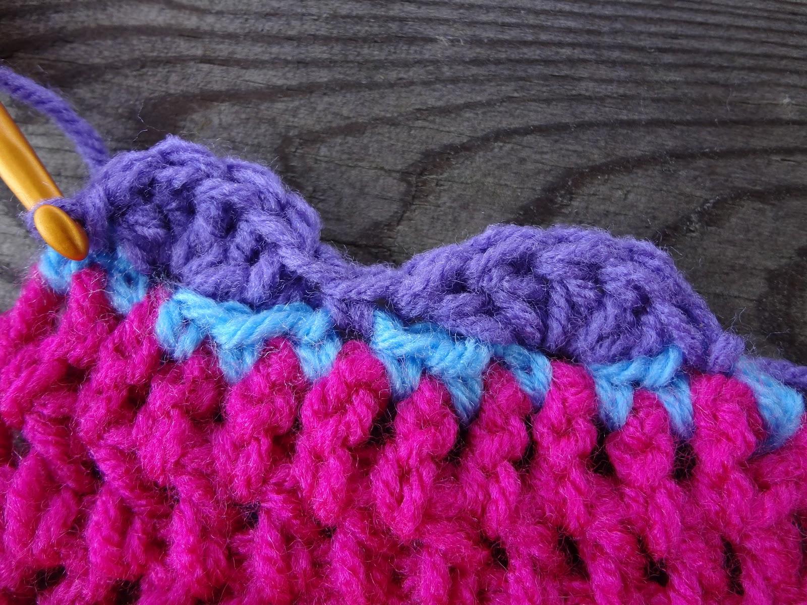 Fiber flux how to crochet scallop edging how to crochet scallop edging bankloansurffo Images