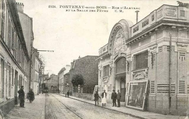 CinéFaçades Palais des Fêtes (FontenaysousBois  94) ~ Cp Fontenay Sous Bois