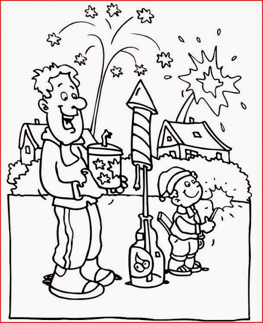 New Year's coloring pages coloring.filminspector.com