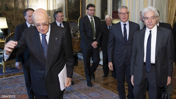 New Old Wise Men Sure Look Lot Like Old >> Open Europe How Many Wise Men Does It Take To Fix Italian Politics