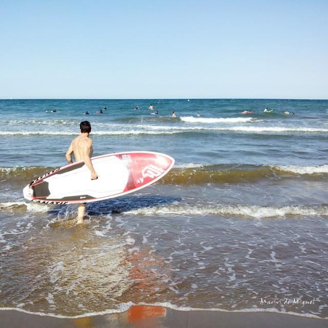 Paddle Surf en la playa de El Puig