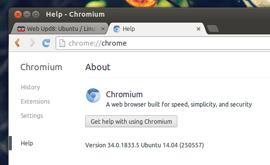 Chromium Browser Dev Ubuntu