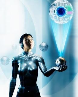 maquillaje holografico tecnologia
