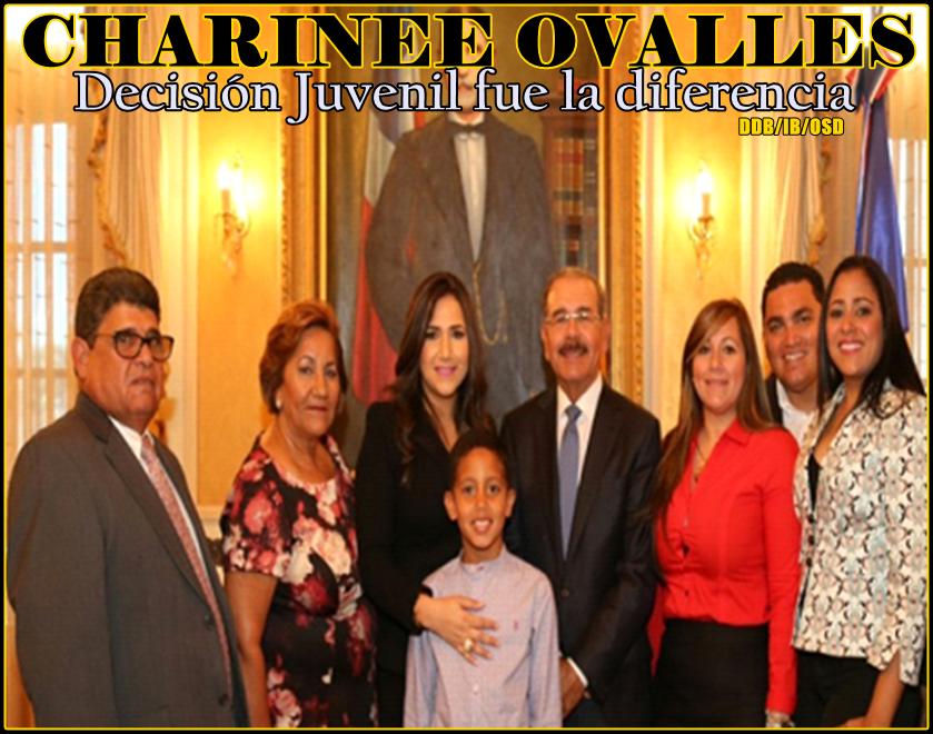 CHARINEE OVALLES...DECISION JUVENIL CON DANILO FUE LA GRAN DIFERENCIA