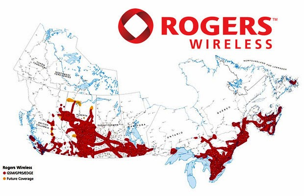 The Issues In The Canadian Telecommunications Market - Rogers us coverage map