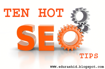 10 Hot Tips For Blogger Seo