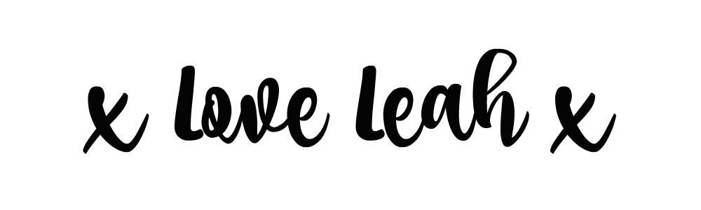 x Love Leah x