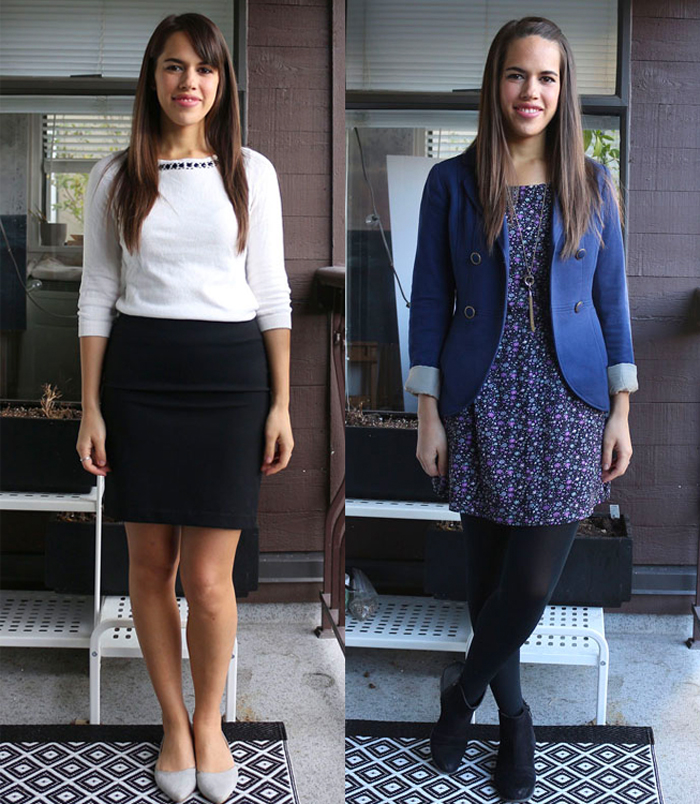 jules in flats: personal style blog - business casual workwear on a budget November 2015 Outfits Week 1