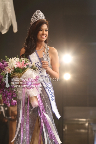 Chanyasorn Sakornchan,Miss Thailand Universe 2011, National Beauty Pageants