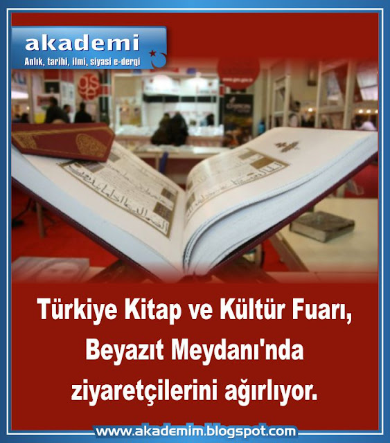 Türkiye Kitap ve Kültür Fuarı, Beyazıt Meydanı'nda ziyaretçilerini ağırlıyor.