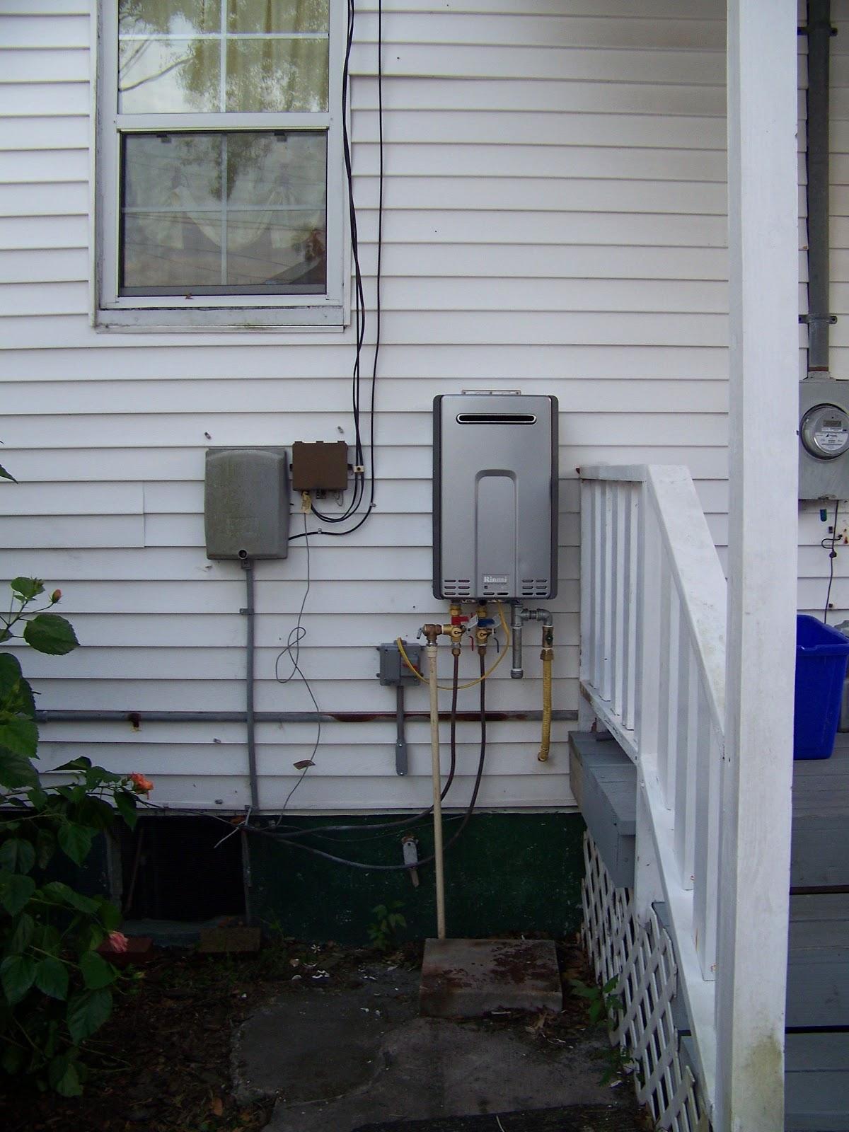 Outdoor Gas Water Heater Enclosure Bust of Outdoor Water Heater