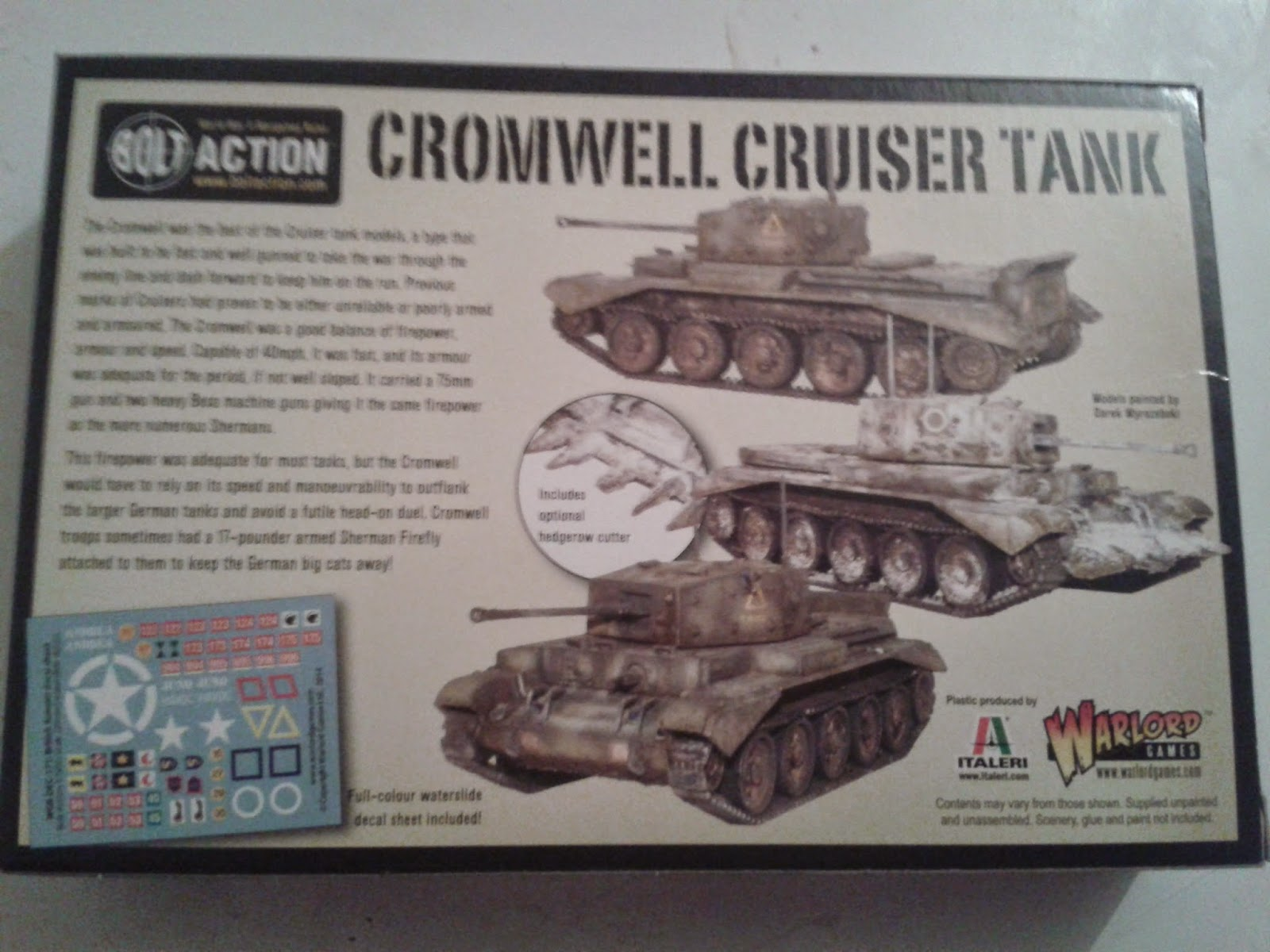 Bolt Action Ww2 Cromwell Cruiser Tank Warlord Games 28 Mm for sale online