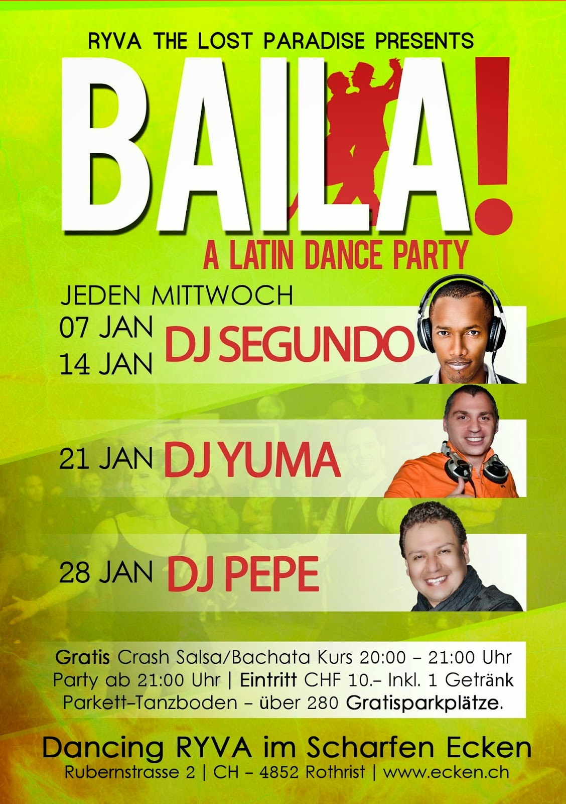 BAILA.- A LATIN DANCE PARTY