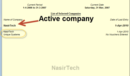 erpnext how to change default company